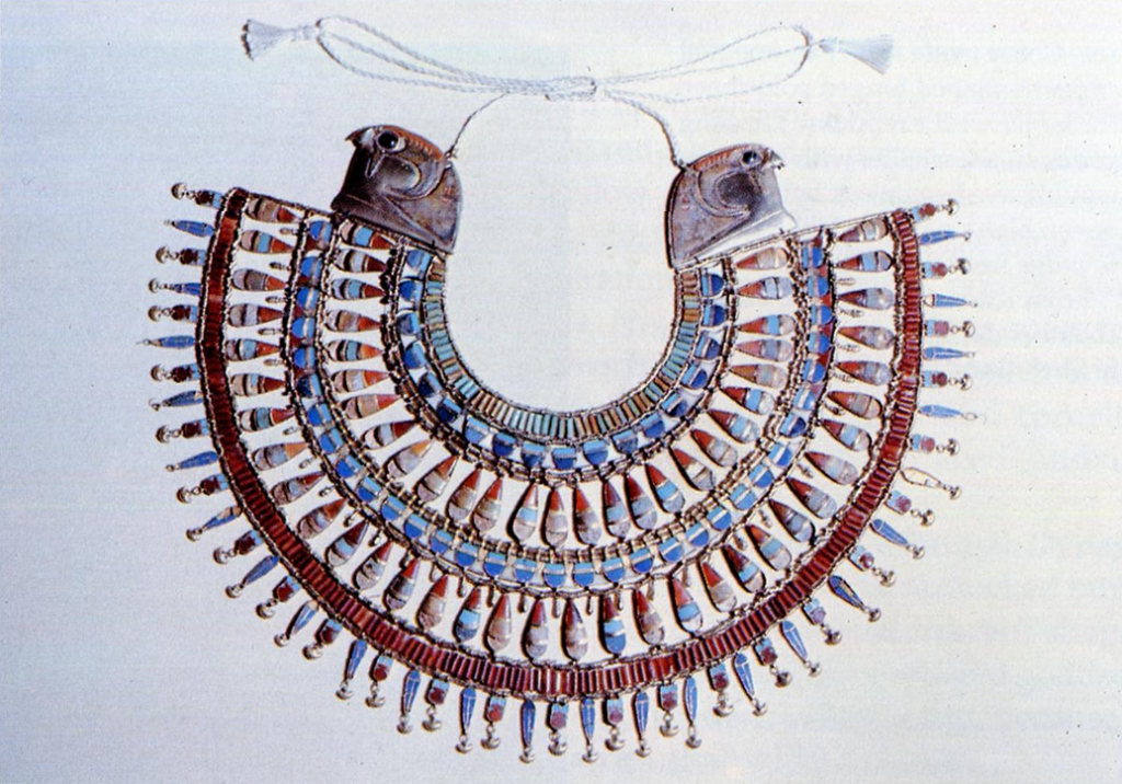 N° 103 – Collier Thoutmosis III, MET: Accession Number: 26.8.70a-1